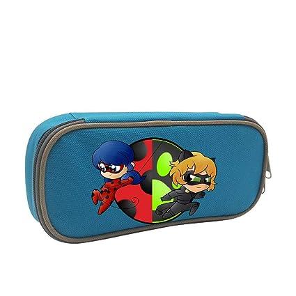 Amazon.com : Ladybug and Chat N_oir Pen Bag Pencil Case ...