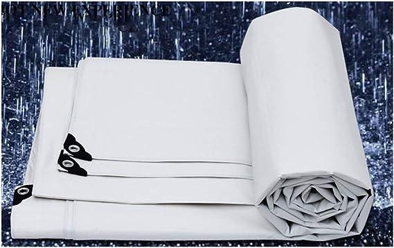 180 g//Metro Cuadrado, 0.35 mm WCS Grueso Impermeable Pl/ástico Impermeable Impermeable Cami/ón al Aire Libre Sombrilla Aislante de Tela Lona Solar Lona Ligera Toldo Lona de Lona Blanca