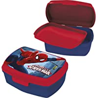 Marvel Boite A GOUTER Spiderman Lunch Box Rouge 16 X 11 CM Marvel