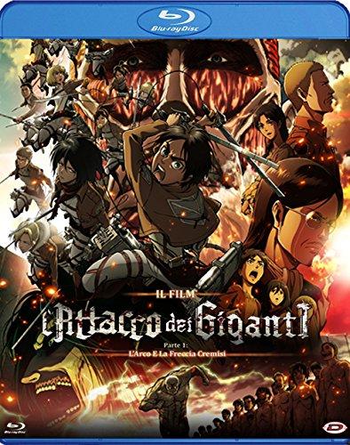 l'attacco dei giganti - il film - parte 1 - l'arco e la freccia cremisi (standard edition) (blu ray)