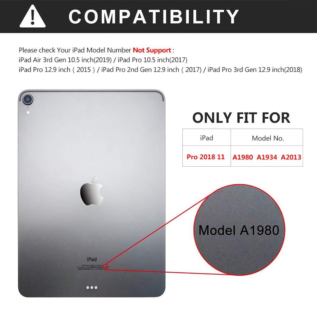 Amazon.com: Funda de piel para iPad Pro de 11 pulgadas ...