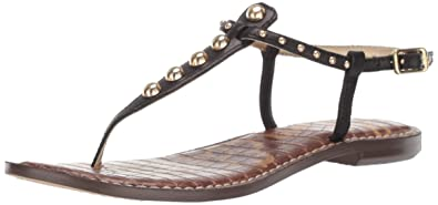 b70e21aaa077 Amazon.com  Sam Edelman Women s Gigi 9 Flat Sandal  Shoes