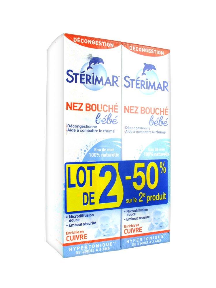 Stérimar Baby Children Blocked Nose 2 x 100ml Sterimar 2589