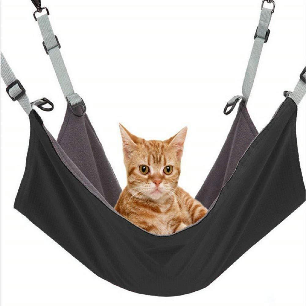 Cat Hammock Washable,Pet Crib,Kitten Hanging Hammock Bed,2 in 1 Summer&Winter for Various Small Animals