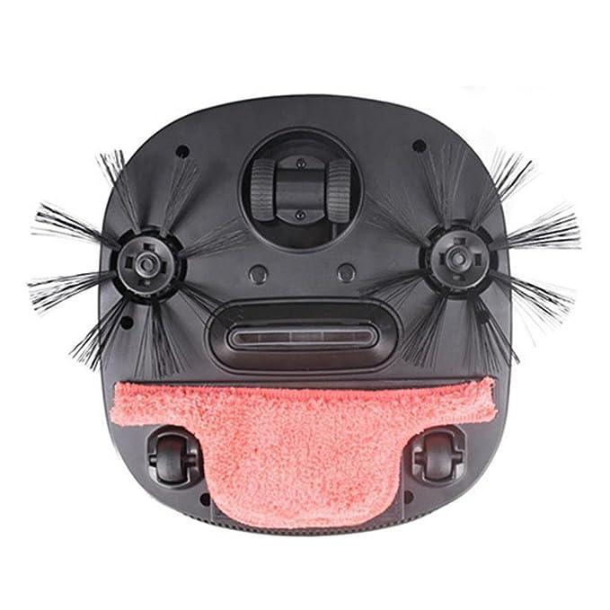 STRIR Robot aspirador, Alta aspiración robótica vacío hogar y cocina limpieza robo con tecnología de detección de gotas y filtro de estilo HEPA para pieles ...
