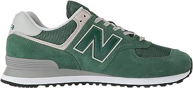 A menudo hablado vistazo moneda  New Balance 574, Zapatillas para Hombre, Verde (Forest Green), 49 EU (Talla  Fabricante: 13.5 UK): Amazon.es: Zapatos y complementos