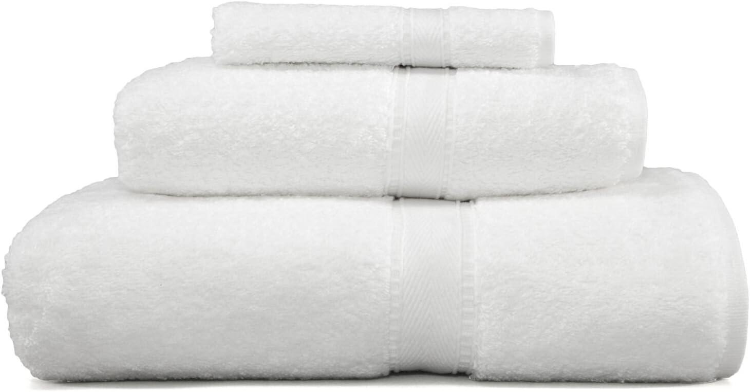 Linum Home Textiles Luxury Hotel Collection 100% Turkish Cotton Terry 3 Piece Towel Combination Set