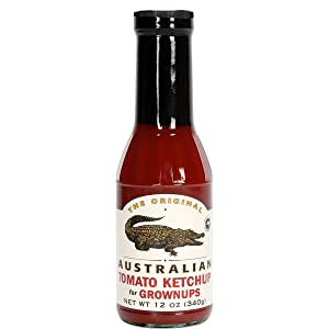The Original Australian Tomato Ketchup for Grownups 340g