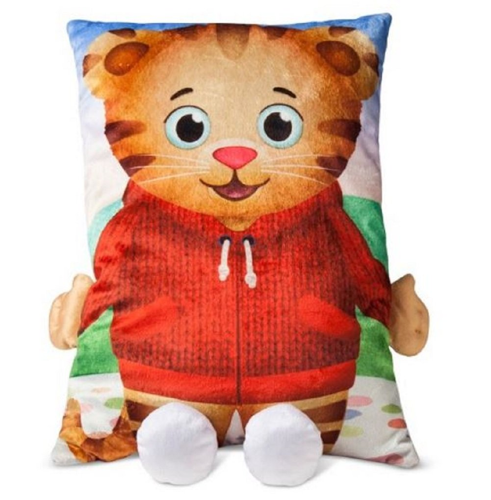 Daniel Tigers Neighborhood Kids Pillow 3D Plush Character Bed Pillow Large Size