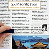 MagDepo Domed Bar Magnifier 3X 6 inch Optical