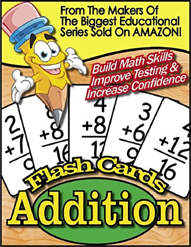 Power Pencil ® - E Reader MATH FLASH CARDS (Addition Version): Turn Your Kindle In To A Powerful Child's Teaching Tool Wherever You Go! (Power Pencil® Book 1)