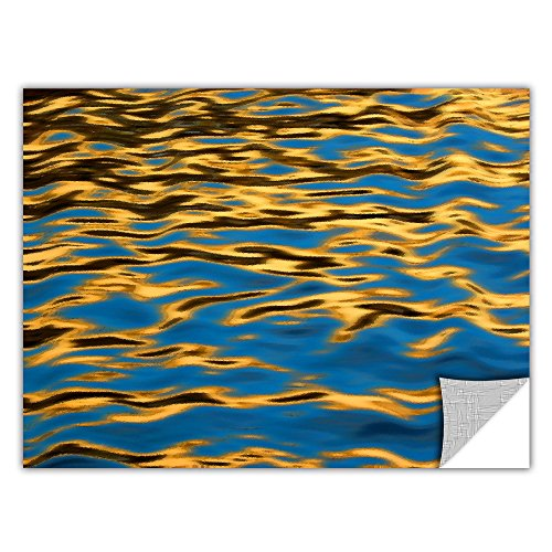 picture of ArtWall Dean Uhlinger 'Rogue River Ripples' Removable Graphic Wall Art, 32 by 48-Inch