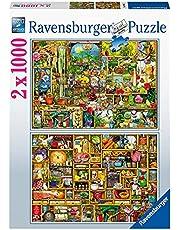 Ravensburger Colin Thompson - 2 x 1 000 bitar pussel för vuxna och barn i åldern 14 uppåt [Exklusivt på Amazon]