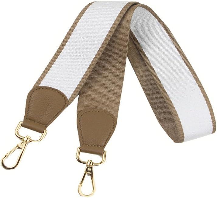 Umily bolsos y bolsos Correa de hombro para mujer ancha correa de hombro - . correa de hombro para llevar al hombro amarillo Amarillo multicolor 103 cm bolso de mano