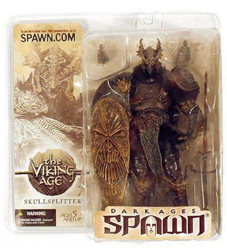 SKULLSPLITTER with MASK R3 Repaint Variant Figure Spawn series 22 the Viking Age McFarlane Toys
