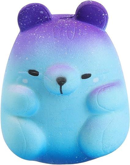 Squishy Kawaii Gigante Juguetes Antiestr/és Ni/ños Adultos MiniMochi Jumbo Squishy Kawaii Squishy Grandes Panda Galaxy Slow Rising