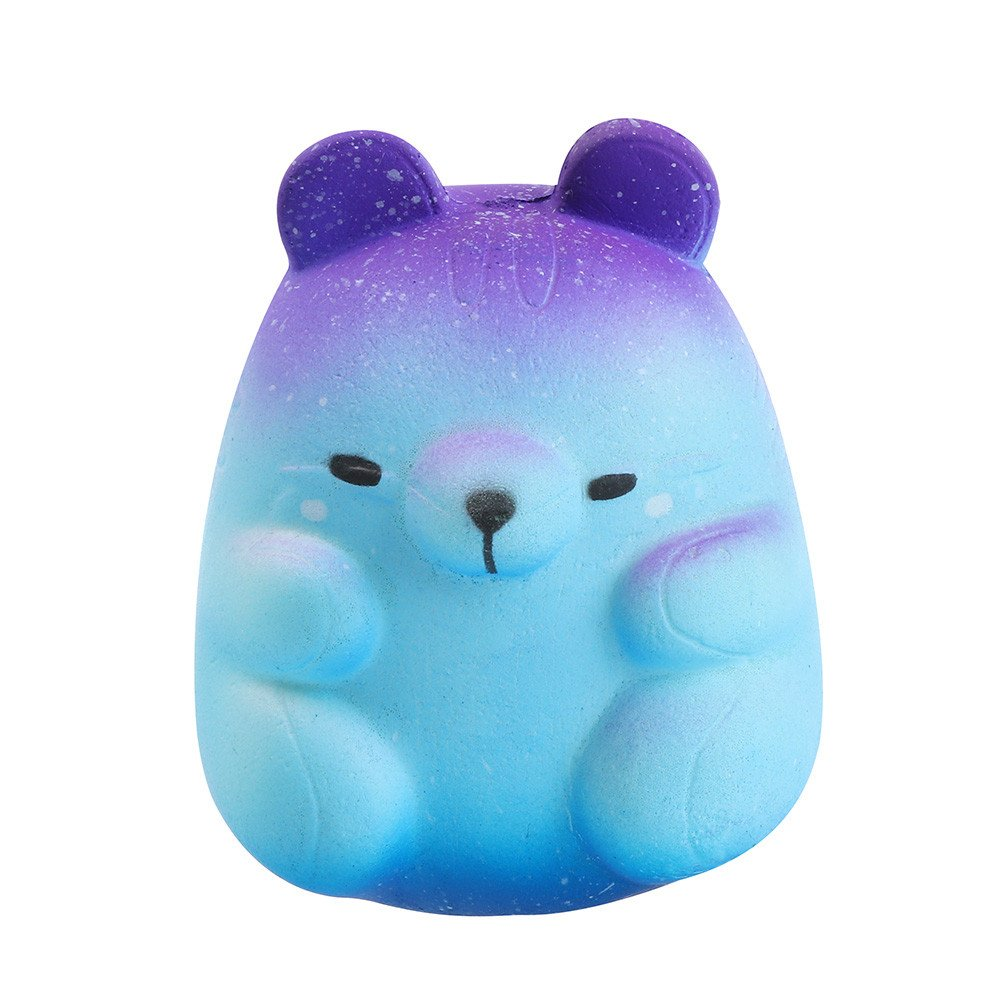 Joykith Squishies Slow Rising Scented Rainbow Squishy Toys Jumbo Cute Stress Relief Charms Giant Squeeze Toys Realistic Kawaii Decoration Toys for Kids Adults Decorative Props JOY129