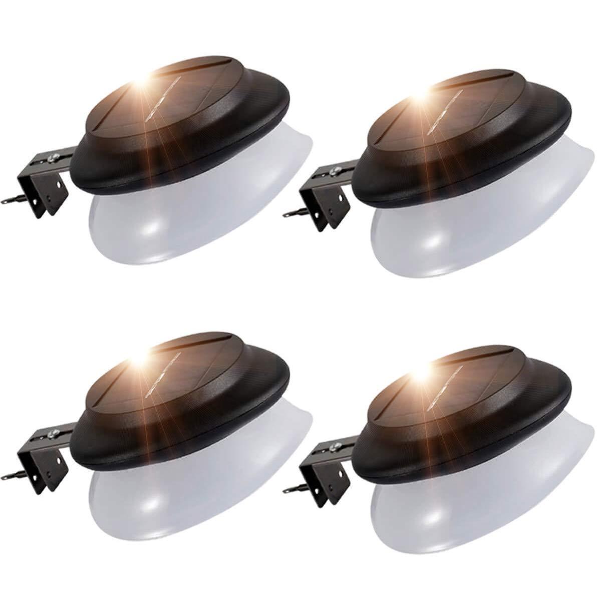 LED Gutter Lights Outdoor,SMY Upgrade Solar Gutter Lights