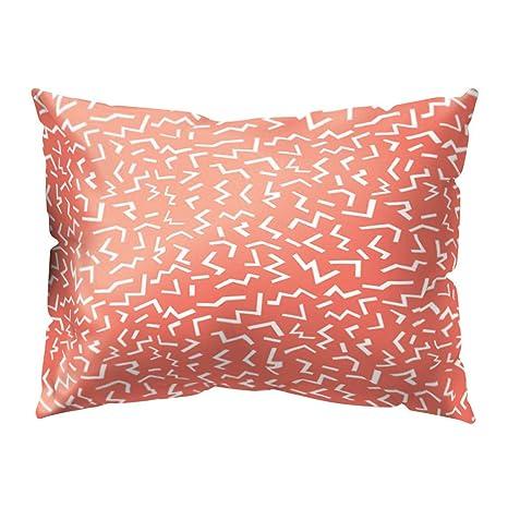 Amazon.com: MEANIT Fundas de almohada, rectangulares ...