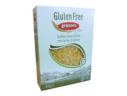 granoro estrellas sin glutine 400 g: Amazon.es: Salud y ...