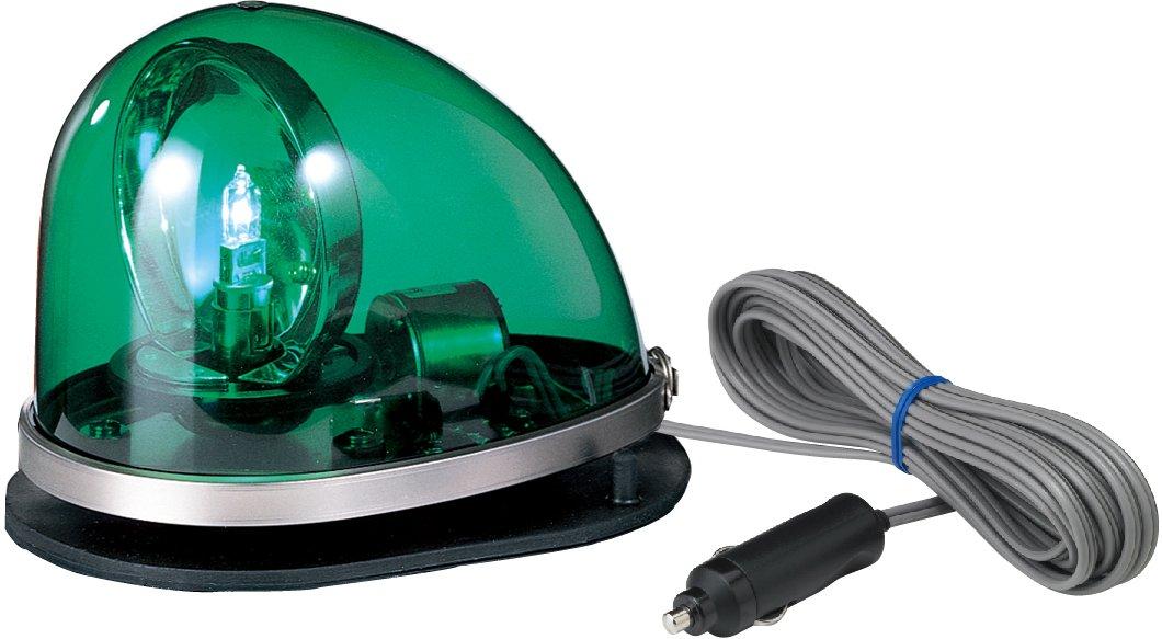 パトライト 流線型回転灯 ゴムマグネット脱着式 DC24V 緑色 HKFM-102G-G 緑色 緑色 B00PVWFIPE