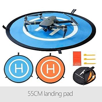 Flycoo 55cm 22in Landing Pad Fast-Fold Pista de Aterrizaje para ...