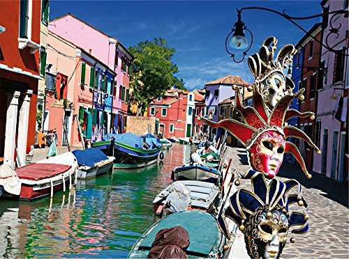 D Toys Burano Jigsaw Puzzle  1000 Piece
