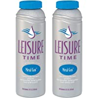 LEISURE TIME D-02 Metal Gon for Spas and Hot Tubs (2 Pack), 1 Pint