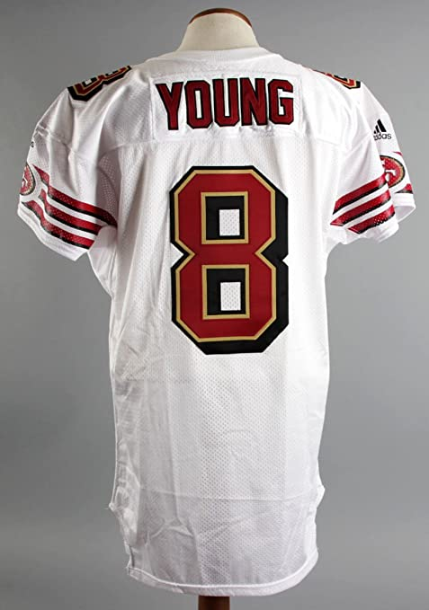 2000 Steve Young Game Issued Jersey SF 49ers COA at Amazon's  for sale
