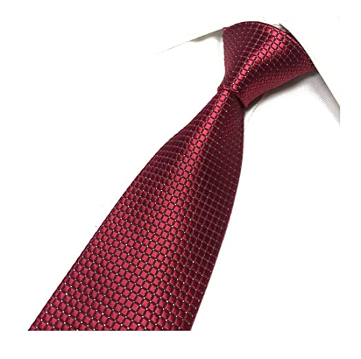 Boys Cravat Wedding Ascot Necktie Formal Party One Size Shimmery Dark Red Kids' Clothing, Shoes & Accs