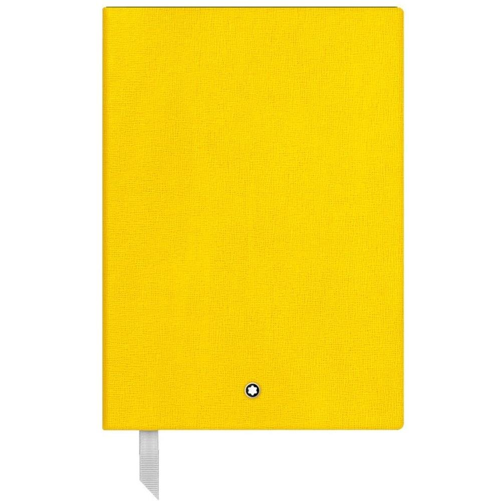 Montblanc Fine Stationary Unisex 146 Yellow Lined Leather Notebook Accessories 116519