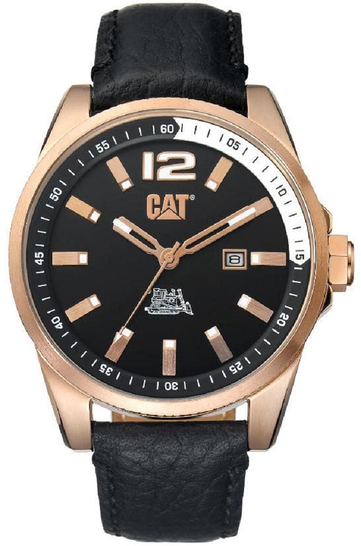CAT ゴールドスチール腕時計