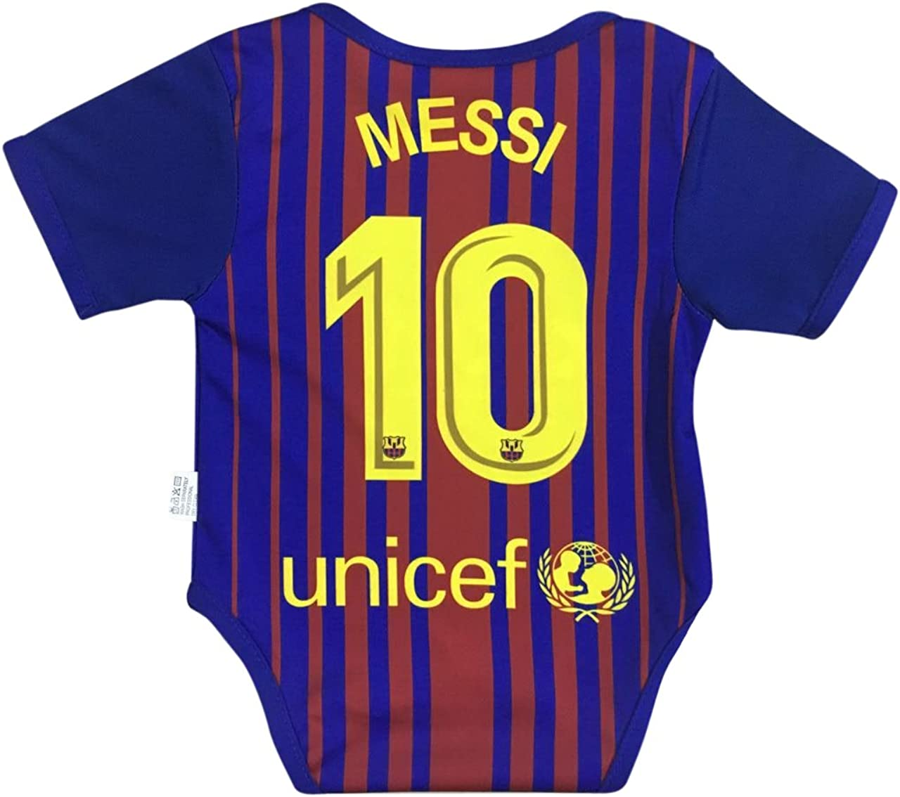 World Cup Baby New Lionel Messi #10 Soccer Jersey Baby Infant and Toddler Onesie Romper Premium Quality