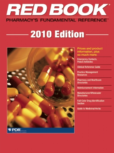 Red Book 2010: Pharmacy's Fundamental Reference (Red Book: Pharmacy's Fundamental Reference)