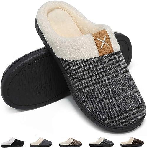 Deevike Pantuflas Zapatillas Hombre Invierno CáLido Zapatos Memory ...
