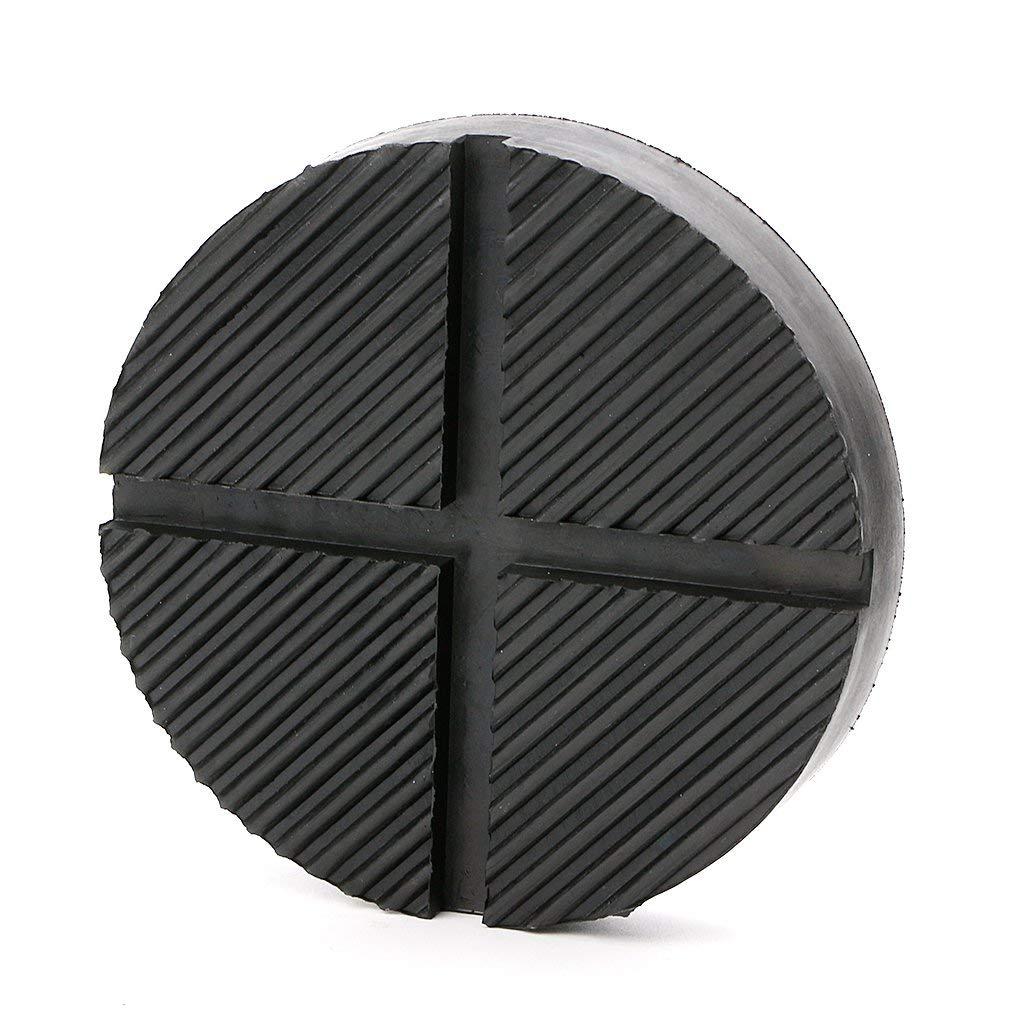 DEDC Universal Floor Jack Rubber Pad Adapter Pinch Weld Side Frame Rail Protector Puck//Pad