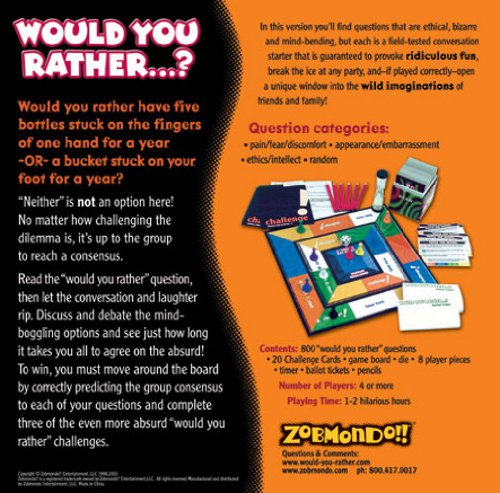 would you rather board game instructions zobmondo