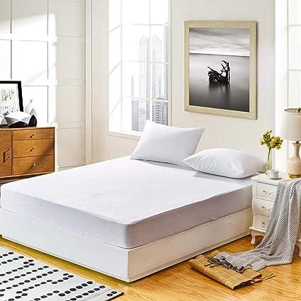 Su-luoyu Protector de colchón impermeable hipoalergénico premium Protector de Colchón Impermeable - Cubre Colchón