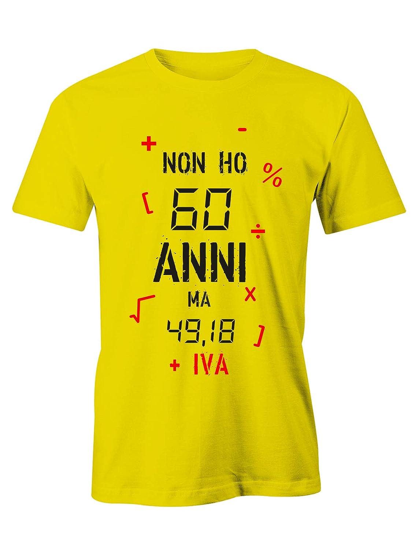 Puzzletee T Shirt Compleanno Non Ho 60 Anni Ma 49 18 Iva Magliette