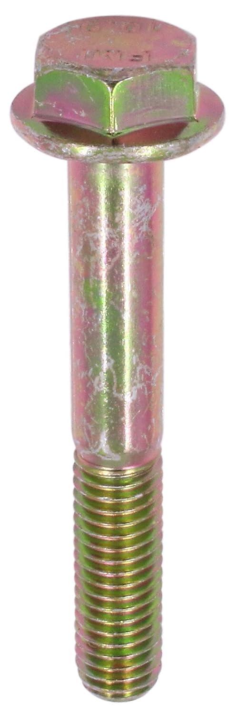 10 Pack M8-1.25 x 55 mm Hex Flange Bolt Din 6921 10.9 Zinc Yellow U-Turn