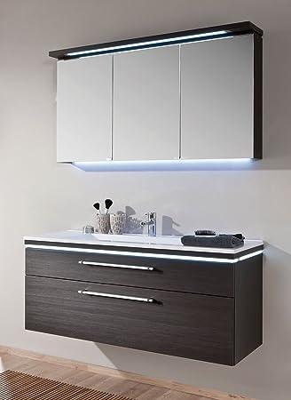 Puris Cool Line Badmobel Set Waschtisch Unterschrank 2d