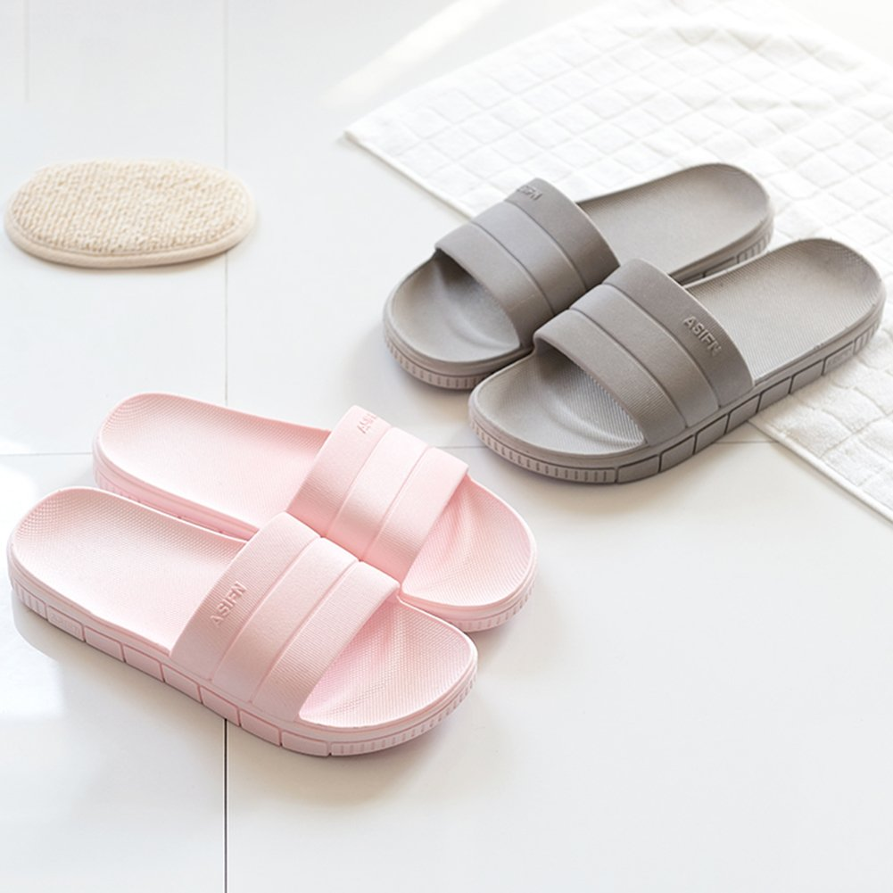 INFLATION Bath Slipper UnisexNon-Slip Open Toe Women Men Shower Sandals Indoor Anti-Slip Home Slippers by INFLATION (Image #3)