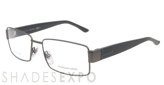 918ba3ee283 Amazon.com  Gucci Eyeglasses GG 2217 GRAY L11 GG2217  Gucci  Clothing