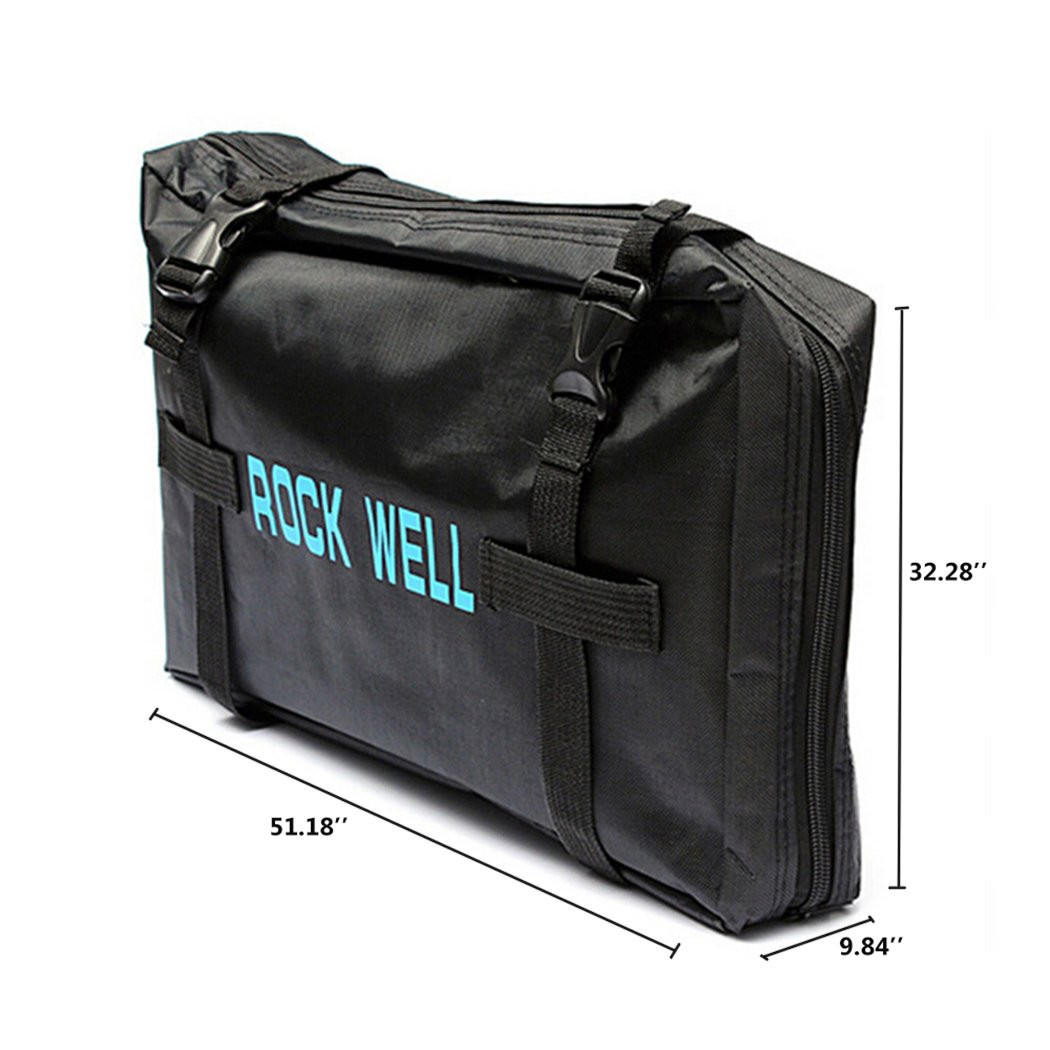 UNHO 26'' Folding Bike Carrier Bag Bicycle Travel Luggage Bag for Mountain Bikes Carry by UNHO (Image #8)