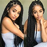 7Packs 22Inch Box Braids Crochet Braids Mambo Twist Braiding Hair 22roots Synthetic Kanekalon