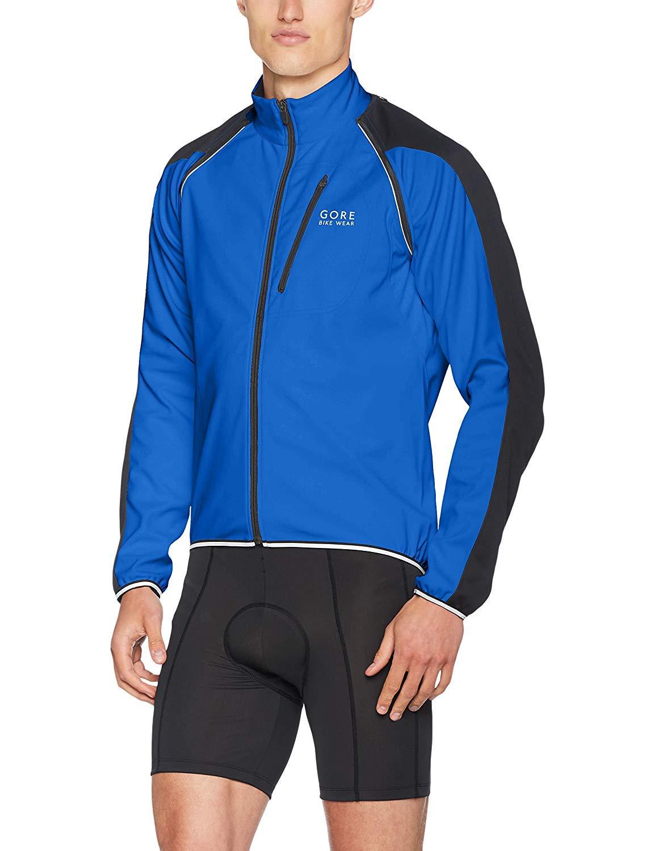 Black XX-Large Gore Wear Mens C3 Windstopper Long Cycling Trousers