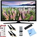 Samsung UN43J5000 - 43-Inch Full HD 1080p LED HDTV Hook-Up Bundle includes UN43J5000 43-Inch Full HD 1080p LED HDTV, Screen Cleaning Kit, 6' HDMI Cable x 2, 6 Outlet/2 USB Wall Tap and Microfiber Cleaning Cloth