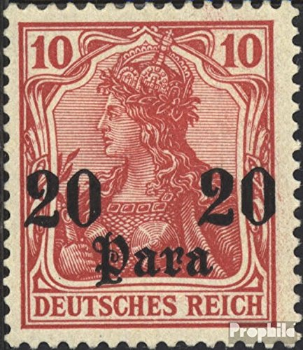 - German. Post Turkey 25 1905 Germania Without WZ (Stamps for Collectors)