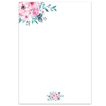 Paper-Media - Papel para cartas (50 hojas, DIN A4): Amazon ...