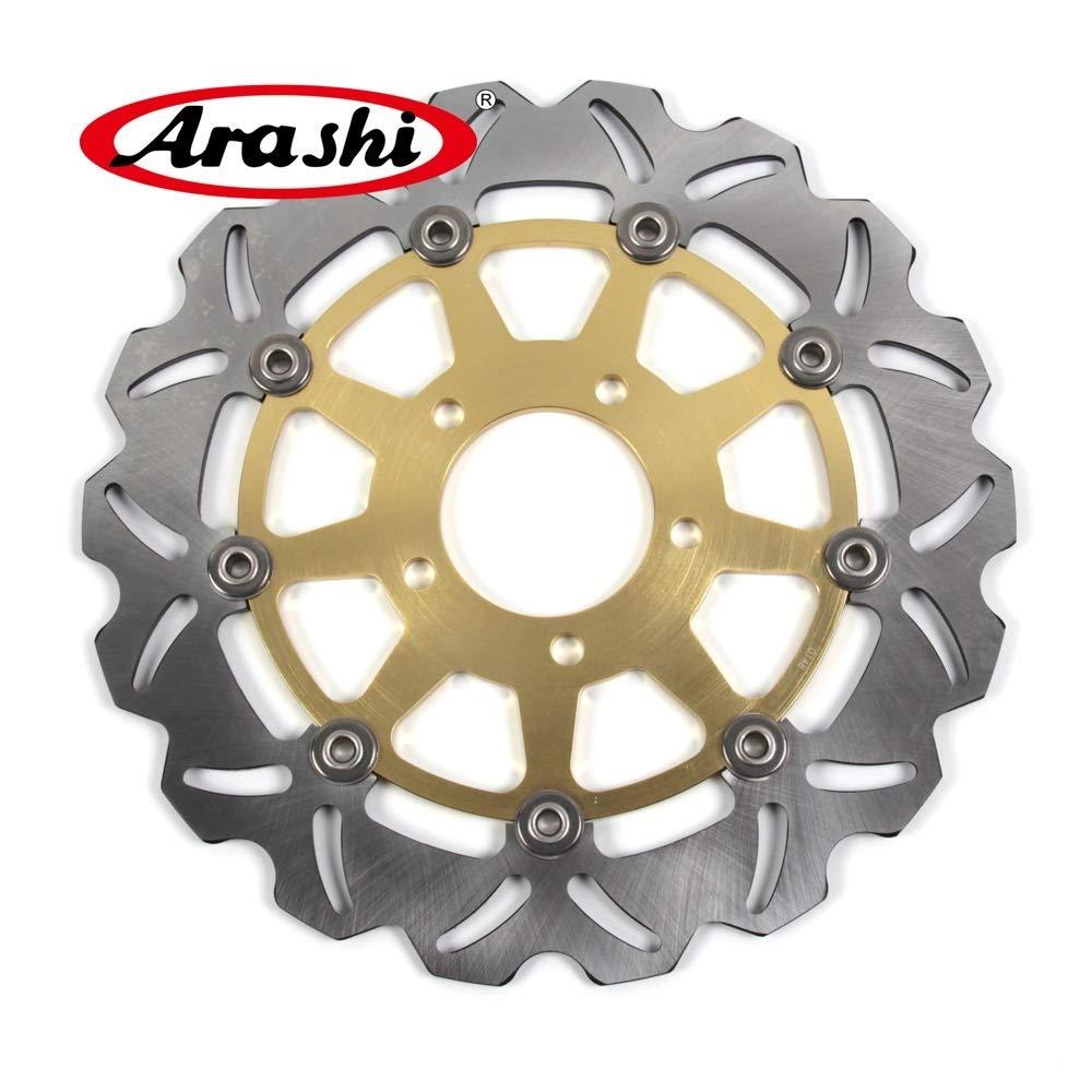 GSXR 750 04-05 Motorcycle Replacement Accessories GSX R GSX-R 600 750 GSXR600 GSXR750 Gold Arashi Front Brake Disc Rotor For Suzuki GSXR 600 2004 2005